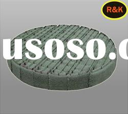 R&K corrosion resistance stainless steel Round Shape Wire Mesh Demister Pads
