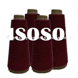 Recycled PET bottle dope dyed polyester yarn