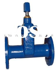 Resilient seated NRS Flanged ends DIN F5 gate valve with handwheel