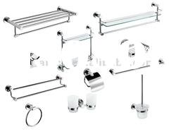 Stainless steel bathroom fittings sets and accessories