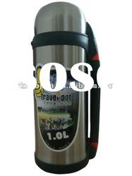 Stainless steel vacuum travel flask pot 1.0 L,1.2L