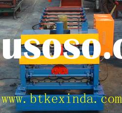 Steel Profile Metal Glazed Roof Panel Cold Roll Forming Machine Roll Former steel board machine