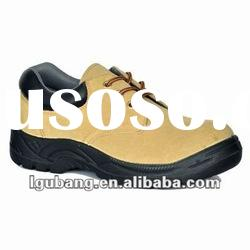 Steel toe leather safety Shoes