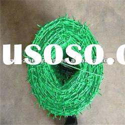 The Most Popular PVC coated Double Twist Barbed Wire (Professional)