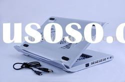 USB Laptop cooling pad with 4 ports HUB 3 Fan notebook cooler