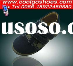 Very comfortable boy school shoes made in Guangzhou