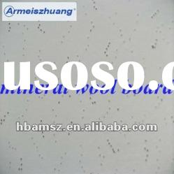 acoustic mineral fiber ceiling tiles for building