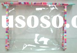 clear pvc cosmetic plastic bag