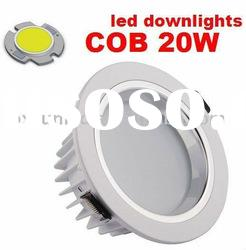 cob driver inside led downlight 20w