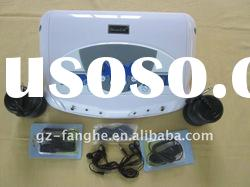 combine with MP3 music function dual detox foot spa H8802