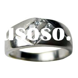 cz ring&fashion sterling silver jewerly ring
