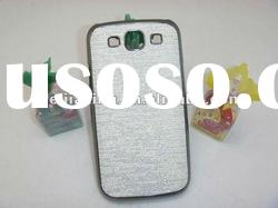 eletroplated design hard mobile phone case cover For samsung galaxy s3/i9300