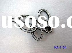 fashion crystal butterfly hair clip for girls