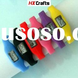 fashion silicon watch various color in stock high grade