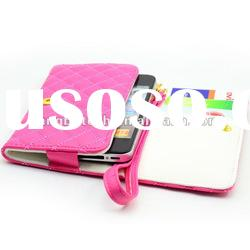 fashion wallet leather case for iphone 5