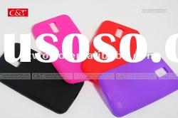for Samsung Galaxy S II Skyrocket PINK SILICONE SLEEVE COVER CASE