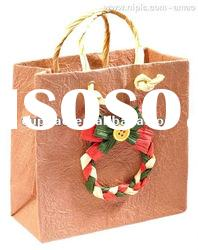 gift bag, packaging paper bags, festival shopping bag (ZXE -022)
