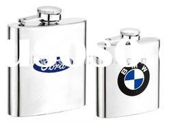 high quality stainless steel hip flask with laser logo