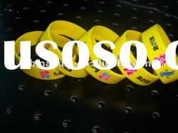 hot custom silicone rubber bracelet charms