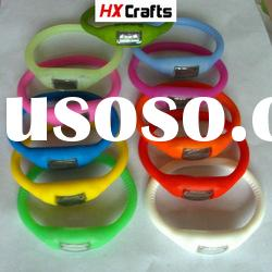 hot sale fashion silicon watch various color in stock high grade