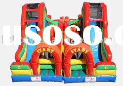 hot selling double inflatable slide for competition