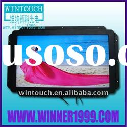industrial open frame lcd touch monitor for gaming pog wms