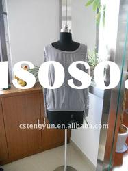 long lace sleeve grey women clothes from china