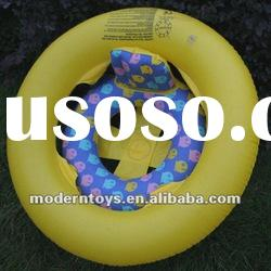 new design PVC inflatable swimming baby seat