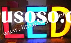 outdoor advertising LED sign light with frontlit