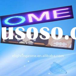 p4 full color high quality led text display