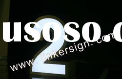 painting Stainless Steel Backlit LED Shop Letter