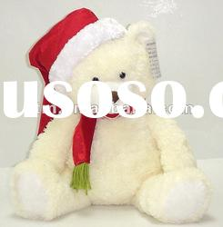 promotional gift soft plush animal and teddy bear doll for christmas series toy wedding gift frame