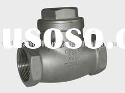 stainless steel casting swing check valve