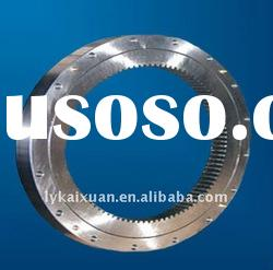 two row different diameter ball luoyang large slewing gear ring bearing