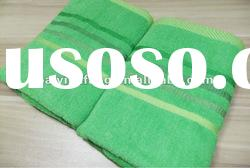 100% cotton hand towels with satin edge
