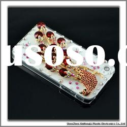 100% handmade luxury bling cell phone cases for iphone 4 with factory price