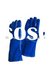 "14"" AB cow split welding safety glove"