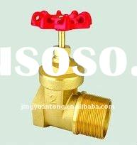 200 wog brass male gate valve for water