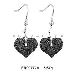 2011 Hot sale 925 sterling silver jewelry earring