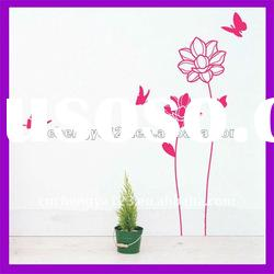 2012 hot sale! Sunflower kids wall sticker home stickers
