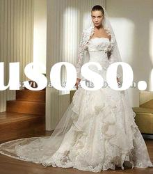 2012 new style jacket with lace sweetheart Exquisite Bridal Wedding Dress