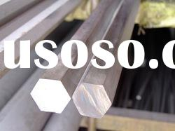304 hot rolled cold draw stainless steel hexagonal bar