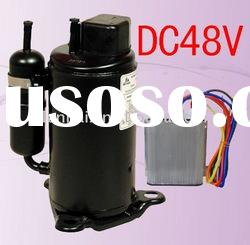 48vdc brushless inverter compressor for electric locomotive air-conditioning special vehicle