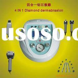4 in 1 diamond microdermabrasion+cold and hot hammer+ultrasonic+skin scrubber