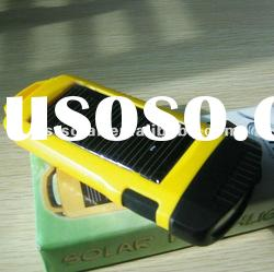 5 pcs super bright led solar flashlight with CE and ROHS certificate