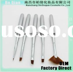 5 pieces/set wooden handle nail brush