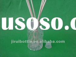 80ml Cylindrical fragrance oil diffuser bottle with unsmooth body