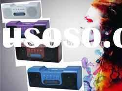 AF-03 Portable Rechargeable Plastic Audio speaker for Ipod/Iphone/4s