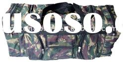 Camouflage travel bag with classic design