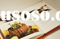 Cheapest hardcover cook book printing with high quality full color